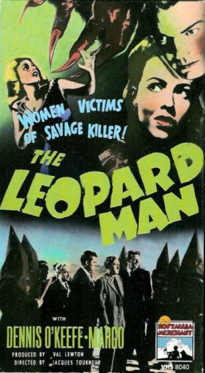 VHS Videos - Leopard Man Nostalgia