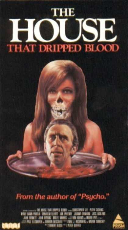 VHS Videos - House That Dripped Blood