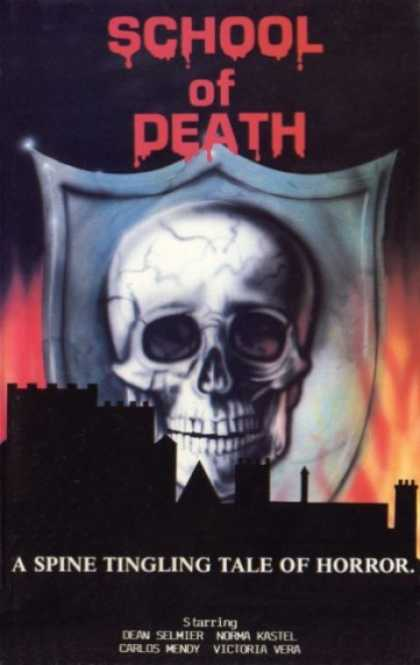 VHS Videos - School Of Death