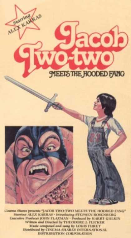 VHS Videos - Jacob Two Two Meets the Hooded Fang 1977