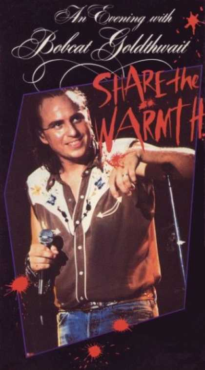 VHS Videos - Bobcat Goldthwait-share the Warmth
