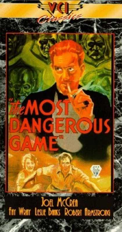 VHS Videos - Most Dangerous Game