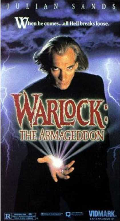 VHS Videos - Warlock the Armageddon