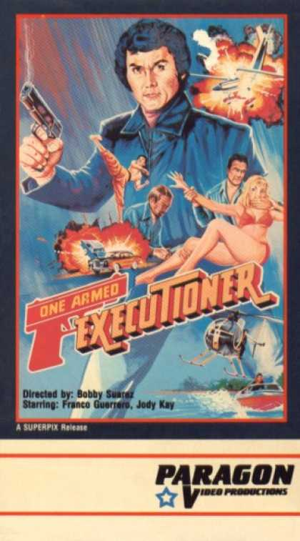 VHS Videos - One Armed Executioner