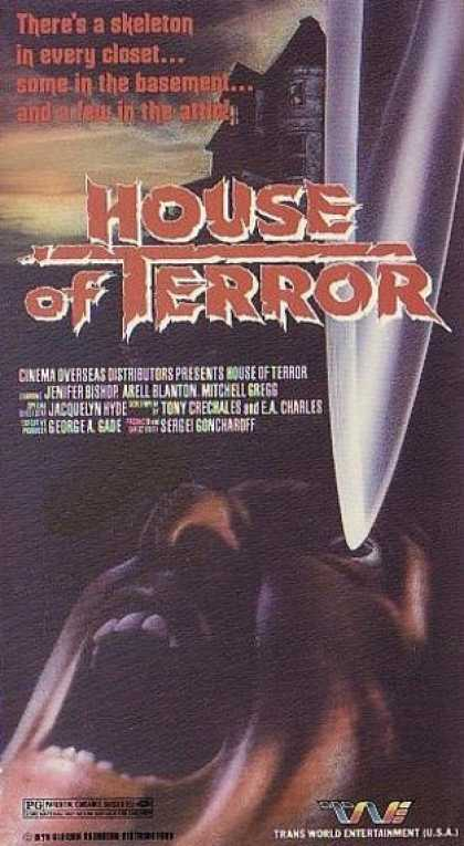 VHS Videos - House Of Terror