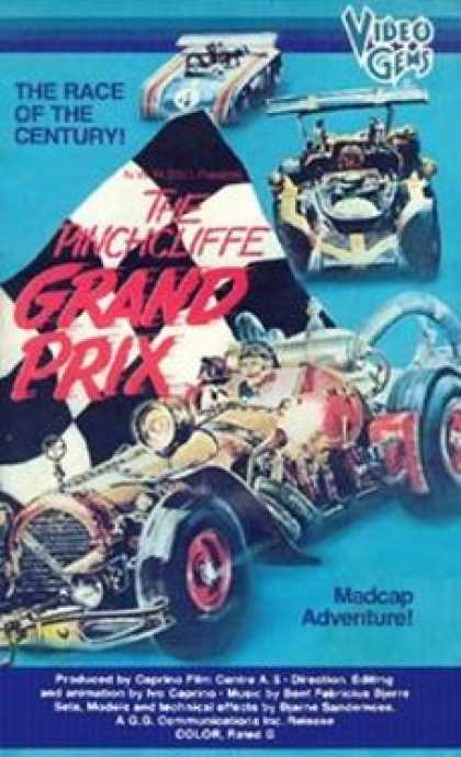 VHS Videos - Pinchcliffe Grand Prix