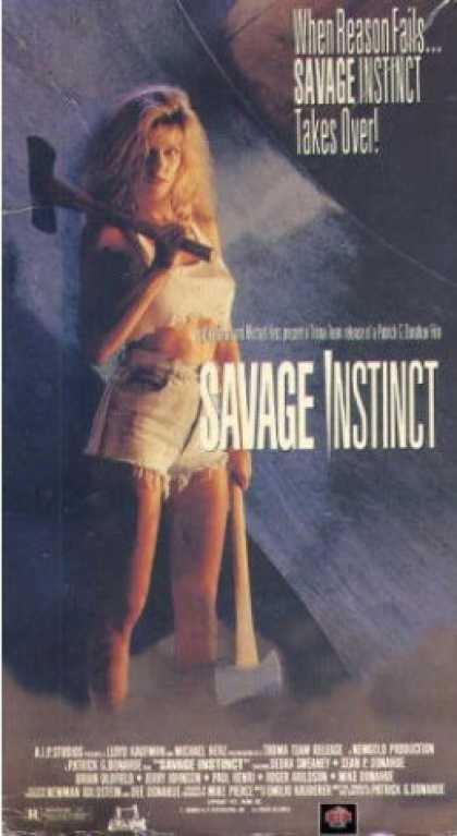 VHS Videos - Savage Instinct