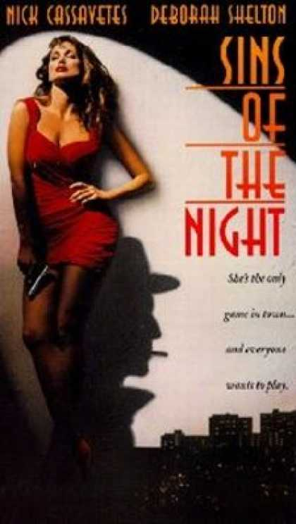 VHS Videos - Sins Of the Night