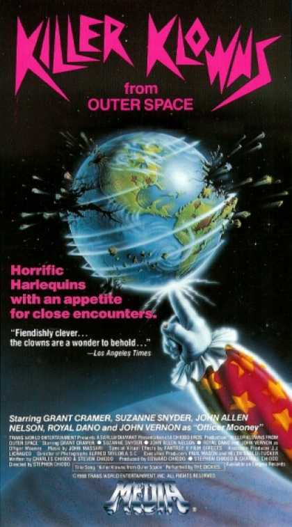 VHS Videos - Killer Klowns From Outer Space