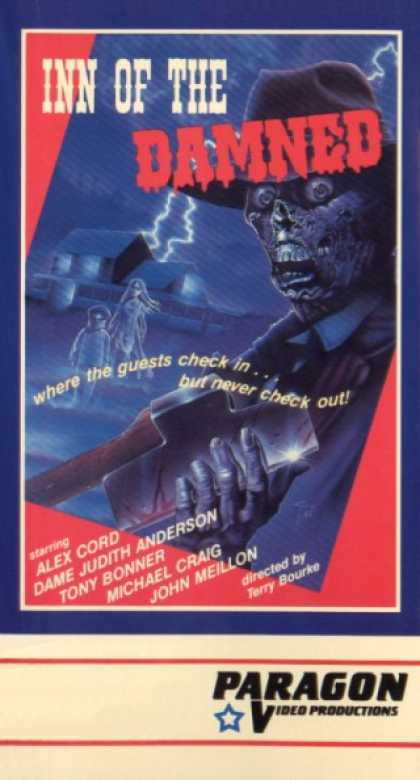 VHS Videos - Inn Of the Damned