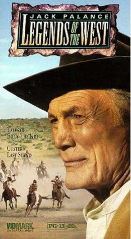 VHS Videos - Legends Of the West
