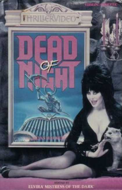 VHS Videos - Dead Of Night Thrillervideo