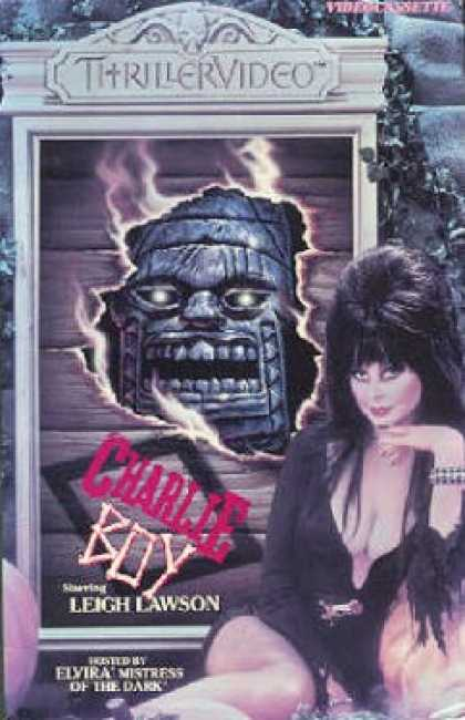 VHS Videos - Charlie Boy Thrillervideo