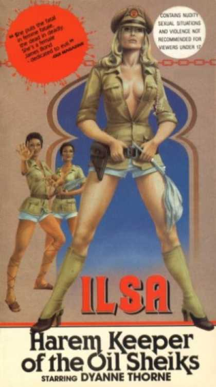 VHS Videos - Ilsa Harem Keeper Of the Oil Sheiks
