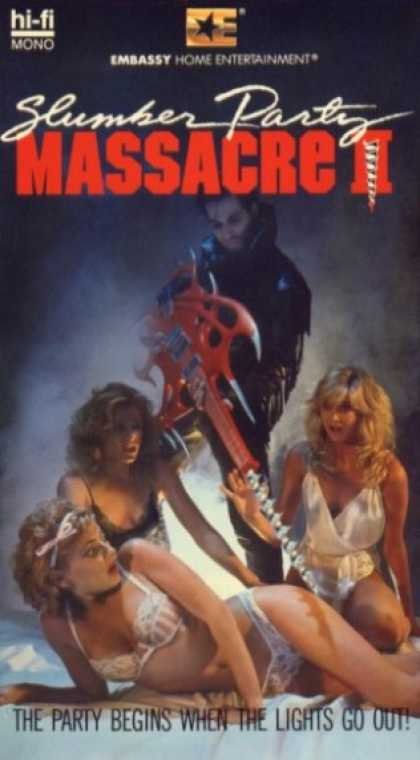 VHS Videos - Slumber Party Massacre Ii