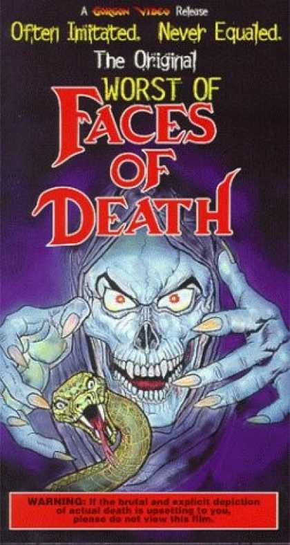 VHS Videos - Worst Of Faces Of Death