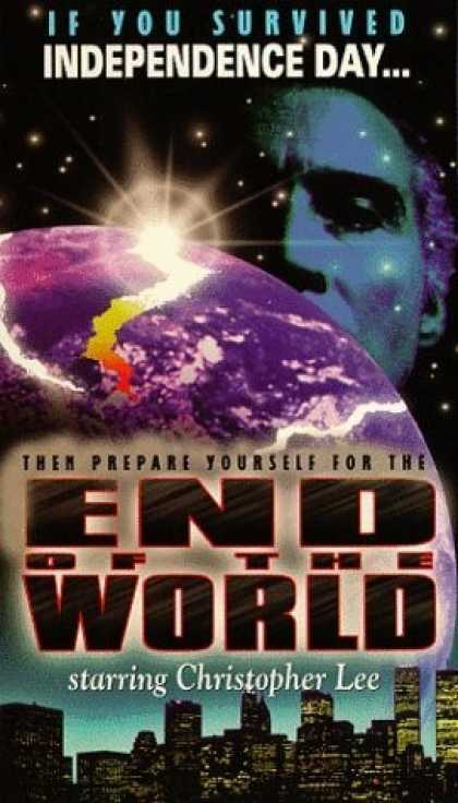VHS Videos - End Of the World United American