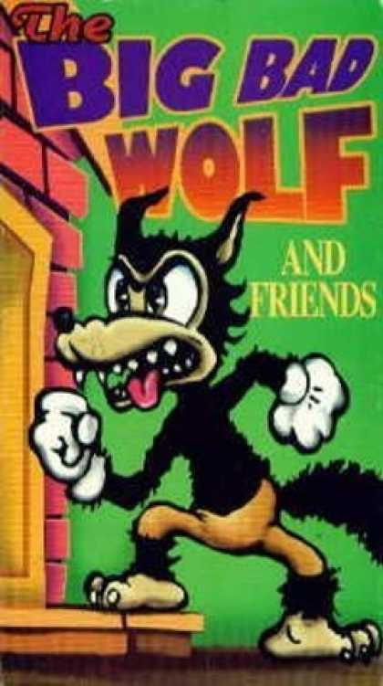 VHS Videos - Big Bad Wolf and Friends