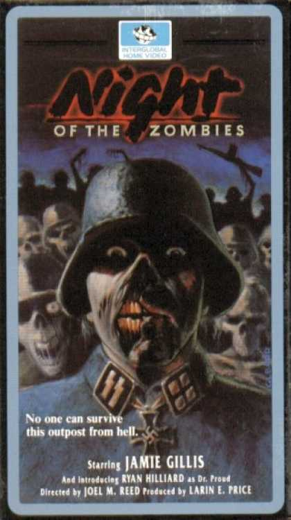 VHS Videos - Night Of the Zombies Joel Reed