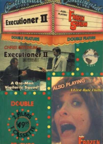 VHS Videos - Executioner Ii-frozen Scream
