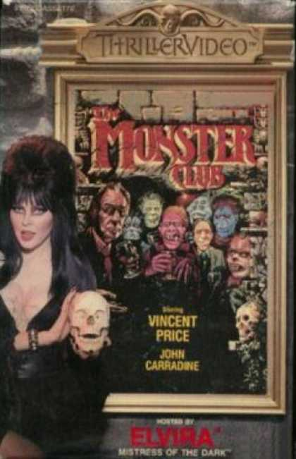 VHS Videos - Monster Club Thrillervideo