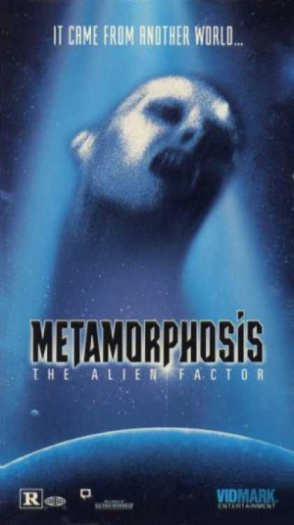 VHS Videos - Metamorphosis the Alien Factor