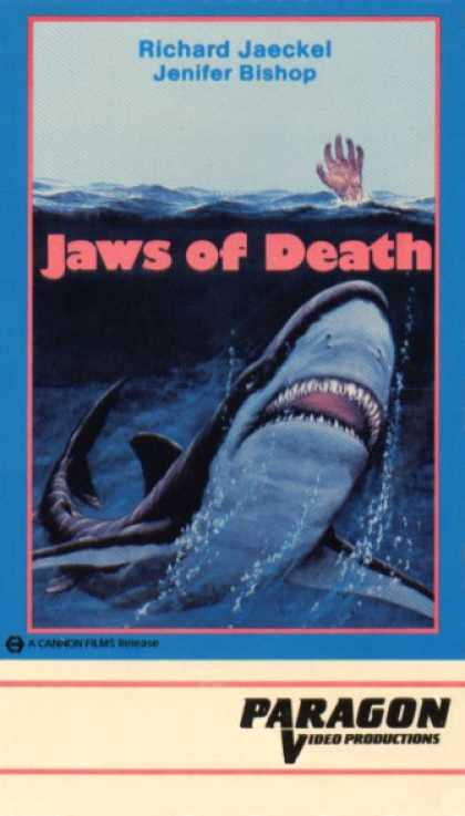 VHS Videos - Jaws Of Death