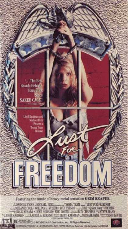 VHS Videos - Lust For Freedom
