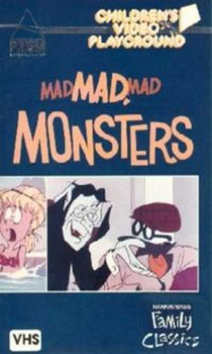 VHS Videos - Mad Mad Mad Monsters