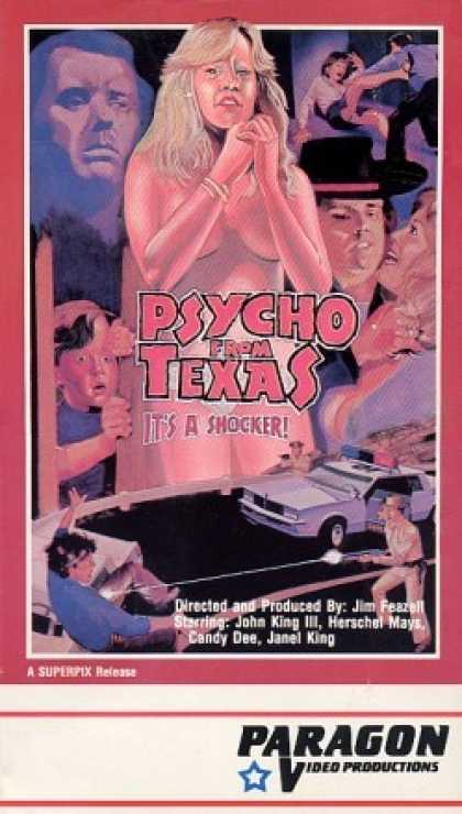 VHS Videos - Psycho From Texas Front