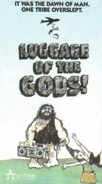VHS Videos - Luggage Of the Gods