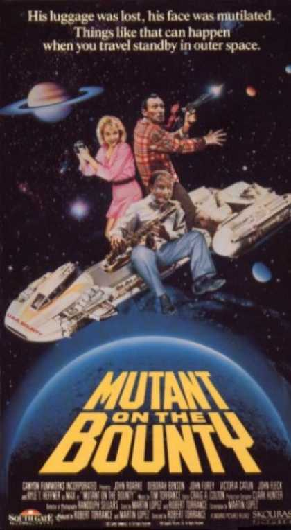 VHS Videos - Mutant On the Bounty