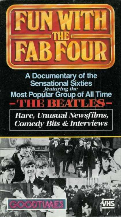 VHS Videos - Fun With the Fab Four