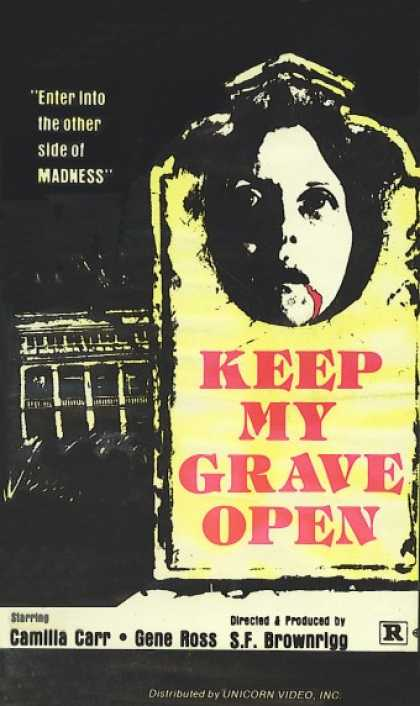 VHS Videos - Keep My Grave Open
