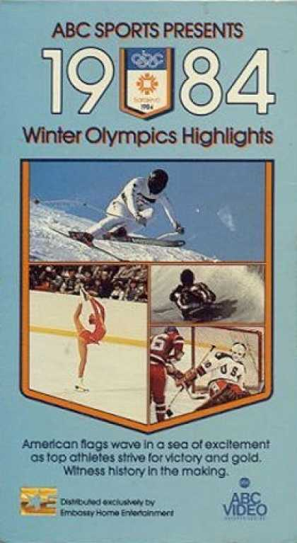 VHS Videos - 1984 Winter Olympics Highlights
