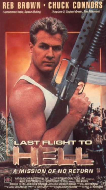 VHS Videos - Last Flight To Hell