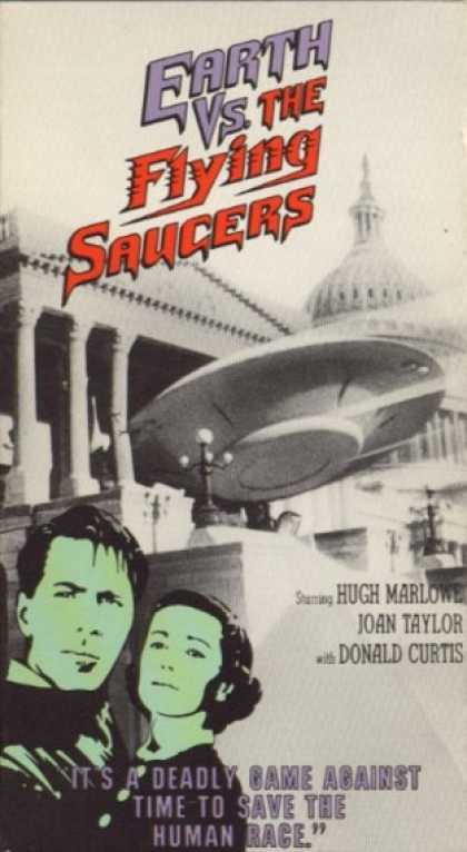 VHS Videos - Earth Vs the Flying Saucers