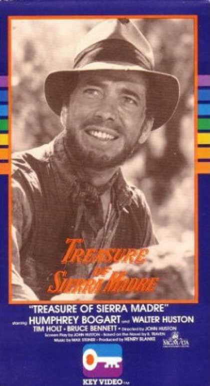 VHS Videos - Treasure Of Sierra Madre