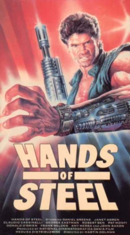 VHS Videos - Hands Of Steel