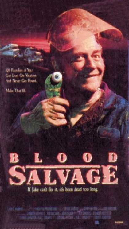 VHS Videos - Blood Salvage