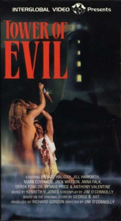 VHS Videos - Tower Of Evil
