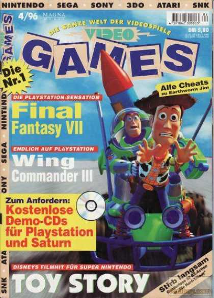 Video Games - 4/1996