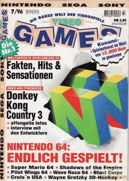 Video Games - 7/1996