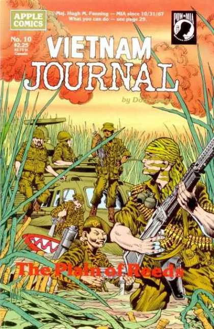 Vietnam Journal 10 - Helicopter - M60 - Armed Forces - Military - Jungle Warfare