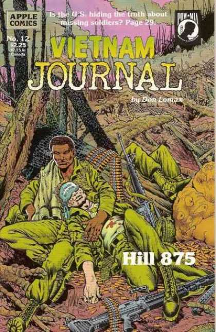 Vietnam Journal 12 - Apple Comics - Missing Soldiers - Vietnam War - Don Lomax - Hill 875