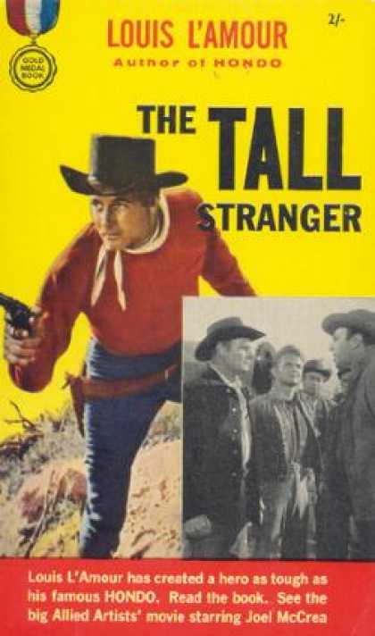 Vintage Books - The Tall Stranger - Louis L'amour