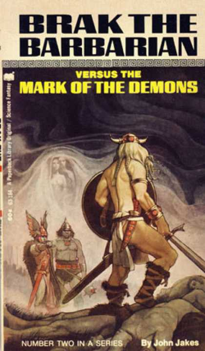 Vintage Books - Brak the Barbarian Versus the Mark of the Demons - John Jakes