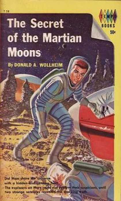 Vintage Books - The Secret of the Martian Moons - Donald A. Wollheim