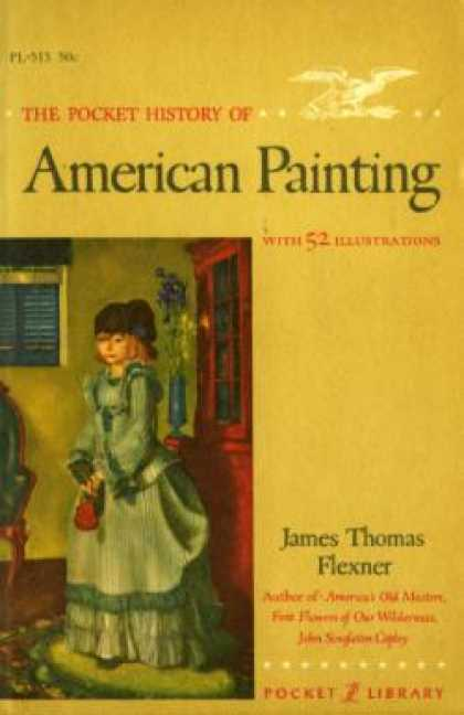 Vintage Books - The Pocket History American Painting - James T. Flexner