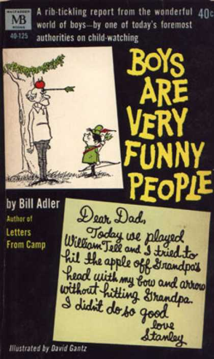 Vintage Books - Boys Are Very Funny People - Bill Adler
